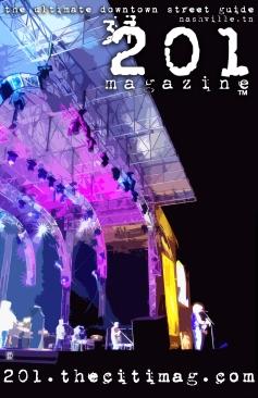 Design - 201 Magazine - Cover