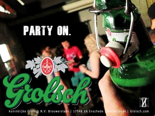 AVM Grolsch Beer - Party On