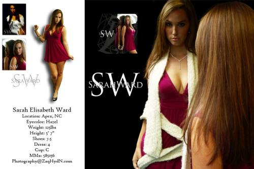 Design - Sara Ward CompCard