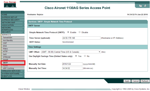 2016-01-22 14_37_08-Cisco IOS Series AP - Services - SNTP