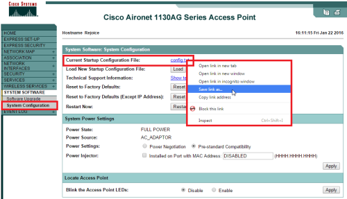 2016-01-22 16_11_49-Cisco IOS Series AP - System Software - System Configuration